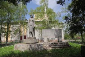Пам'ятник односільчанам, які загинули за Батьківщину в селі Гійче